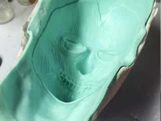 Joker Prosthetic Mould