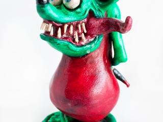 Rat Fink Sculpture